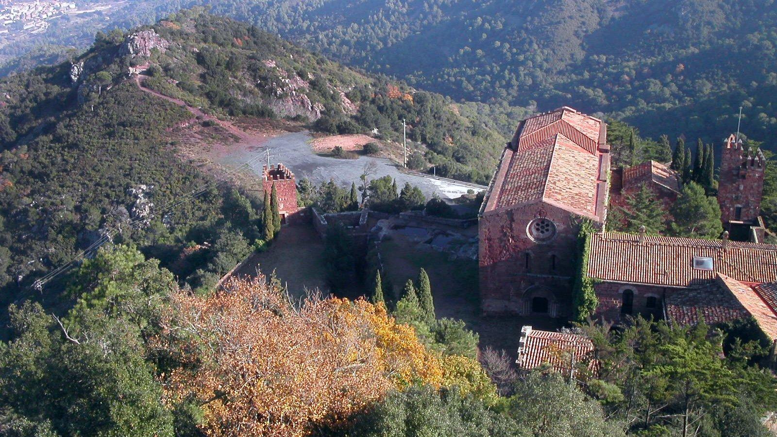 Castle Monastery of Escornalbou, Eduard Toda