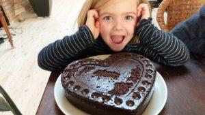 Carobe cake recipe