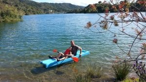 Kayak in the lake